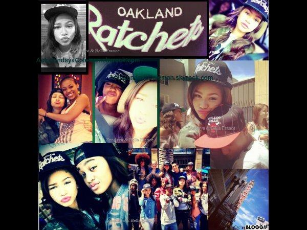 Zendaya à Oakland le 3 Août 2012.