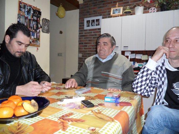 enzo , zio renato et l homme de jessica (paul)