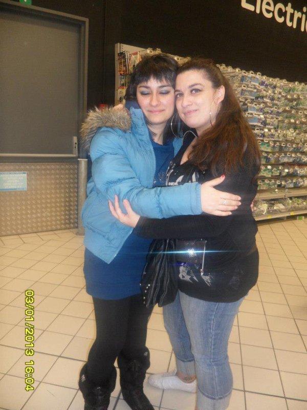 cousine Amélia et moi ♥