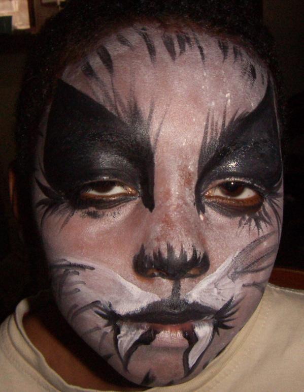 Loup garou les maquillages artistiques de lala - Maquillage loup facile ...