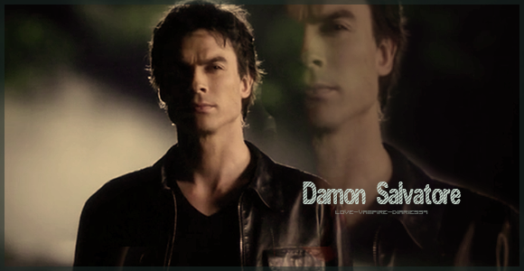 """ Damon Salvatore "" ..."