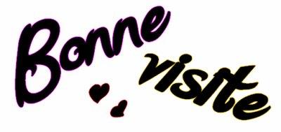 Bonne visite :)