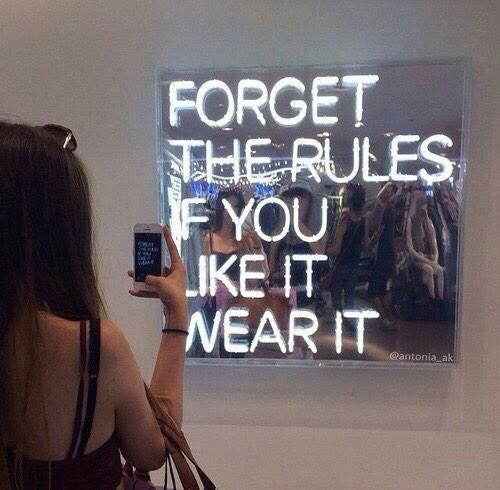 if you like wear it