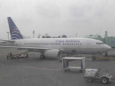 Arrived in Santo Domingo Las Americas Intl
