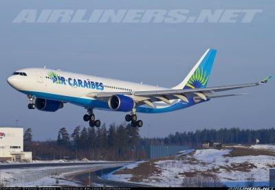 Air Caraïbes Stockholm ===>