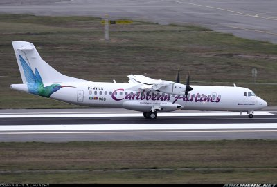 ATR 72-600 Caribbean Airlines !