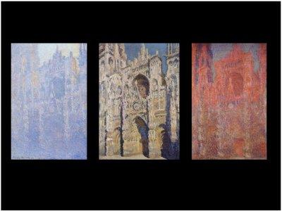 (1) Monet à Rouen. Où l'instant saisi.