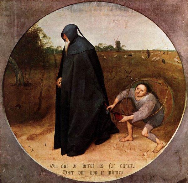 L'étrange tableau de monsieur Brueghel (1568) ! Souvenir de  Naples, musée de Capodimonte.