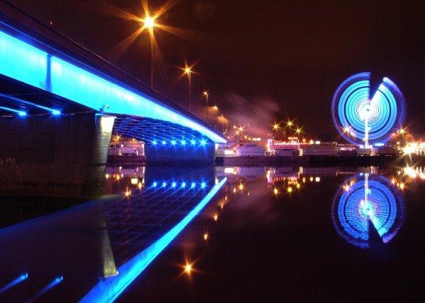 La Foire Saint-Romain de Rouen. Du bleu contre le blues ambiant !