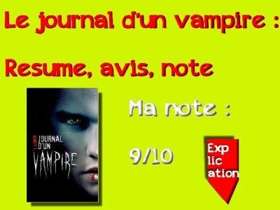Journal d'un vampire : livre