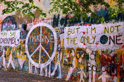 """Make L☮ve, not War"""