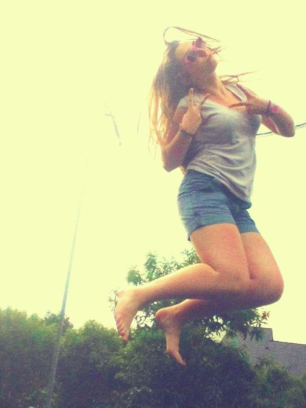 moi dans les air :)
