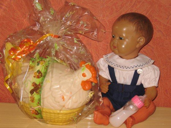 Jacky et la poule de Pâques !