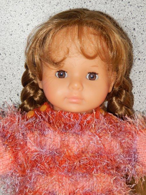 Poupée Zapf pour une autre de mes petites-filles ! Ma petie Elisa a été ravie de sa poupée qu'elle a baptisée Mathilde.