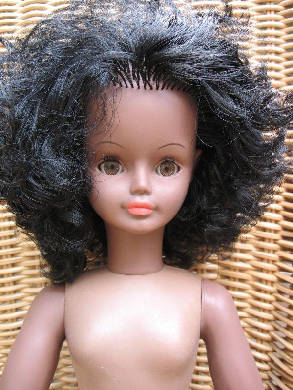 J'ai trouvé hier cette Cathie noire, est-ce Sylvette ? ou Candy sortie en 1975 brune avec les yeux marron ?