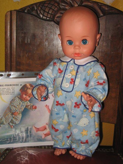 "Baby Boy de ""BELLA"" 1979 habillé en M&T décembre 1966"