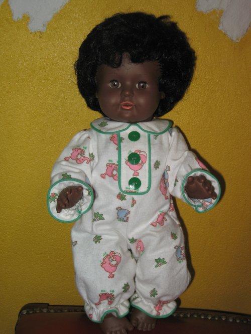 Un 2ème DORS-BIEN M&T décembre 1966 pour un bébé noir TORTUE