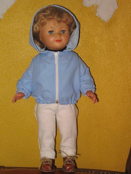 Marie- Françoise est prête pour les sports d'hiver !