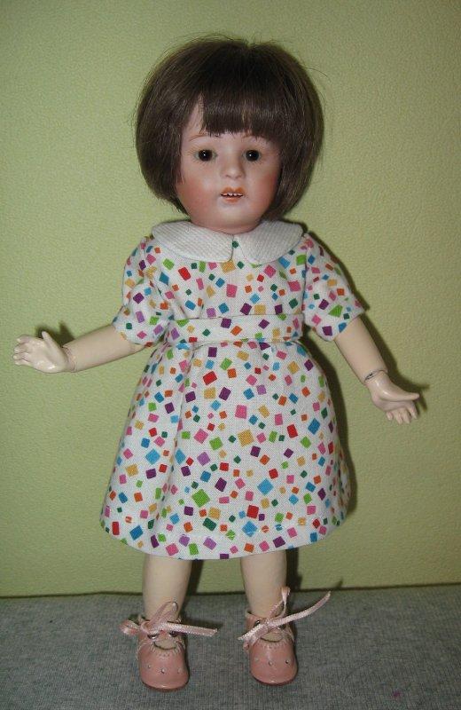 Une petite robe printanière pour Loulotte