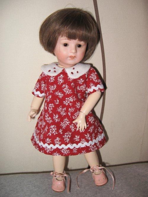 Une nouvelle petite robe pour Loulotte