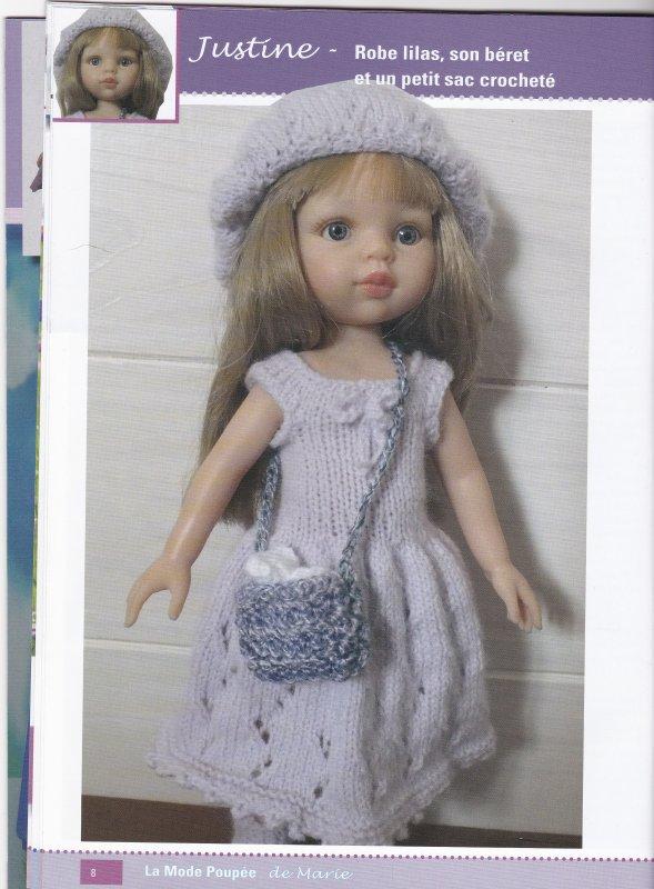 Pour les tricoteuses, de jolis modèles !
