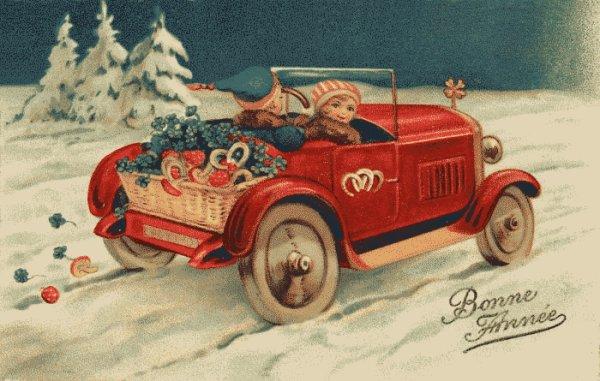 Bonne année à toutes mes amies des blogs