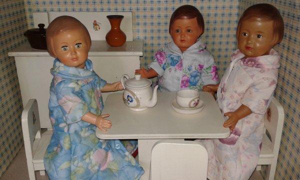 """Un petit bonjour de mes """"filles"""" pour demain matin !"""