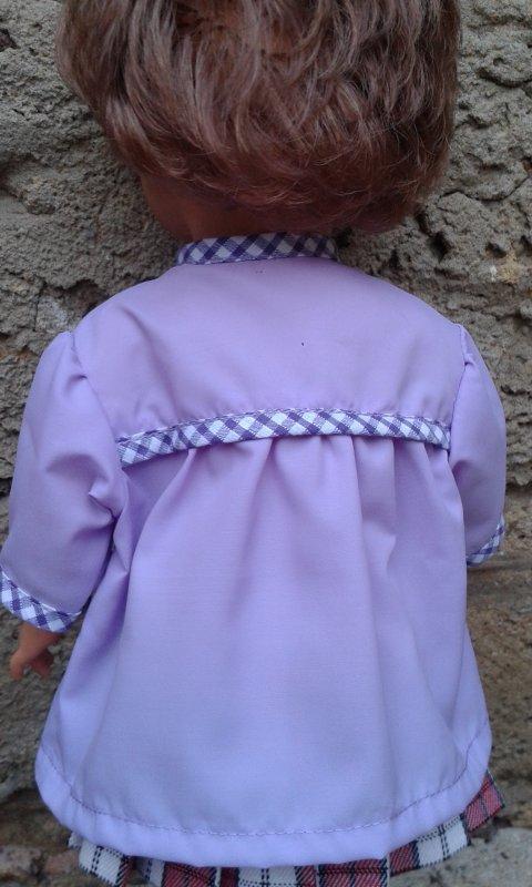 Encore une petite blouse-tablier de septembre 1962