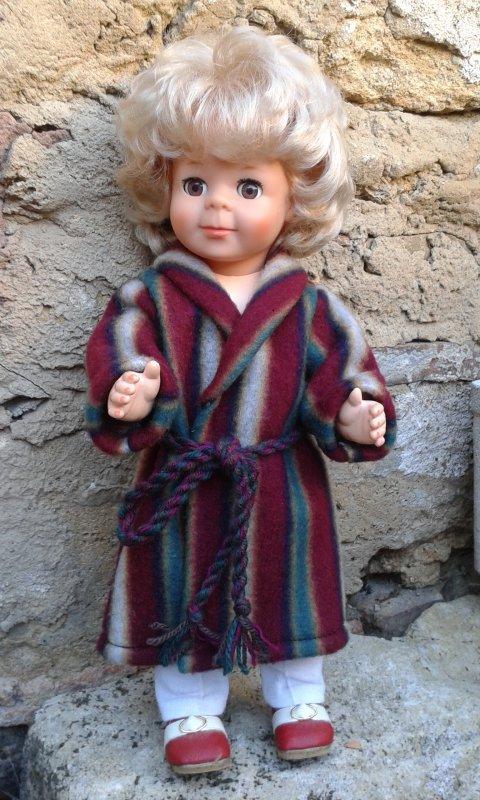 Jean-Michel en robe de chambre de septembre 1973