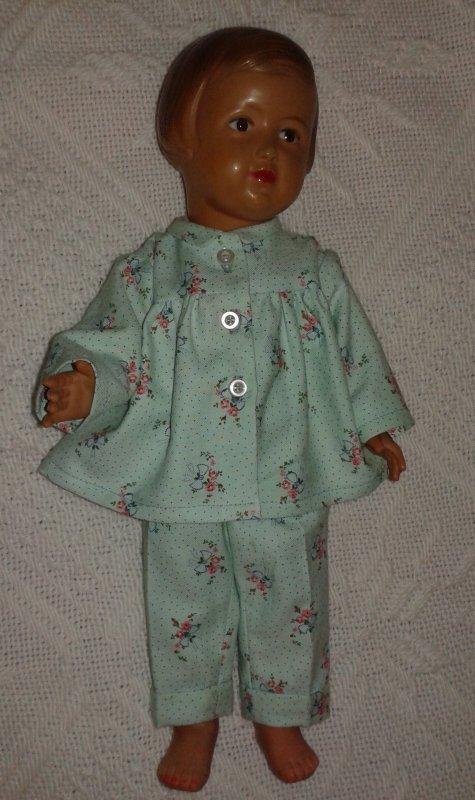Pyjama de mars 1953 pour Françoise
