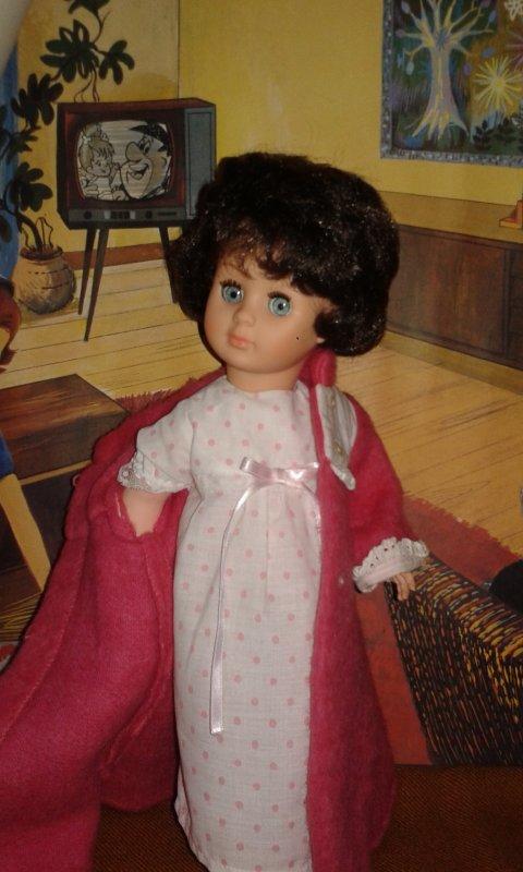 Marie-Françoise en robe de chambre