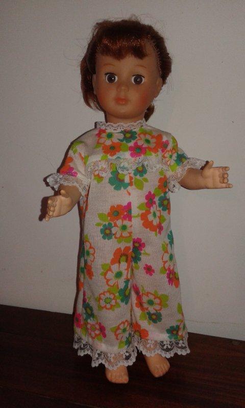 Combinaison-pyjama pour Marie-Françoise de Août 1970