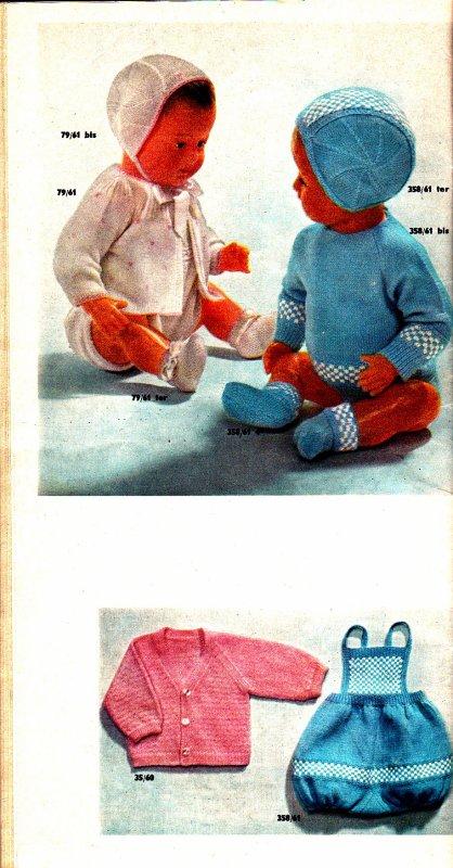Un peu de tricot pour bébés et poupons 1962 (2)