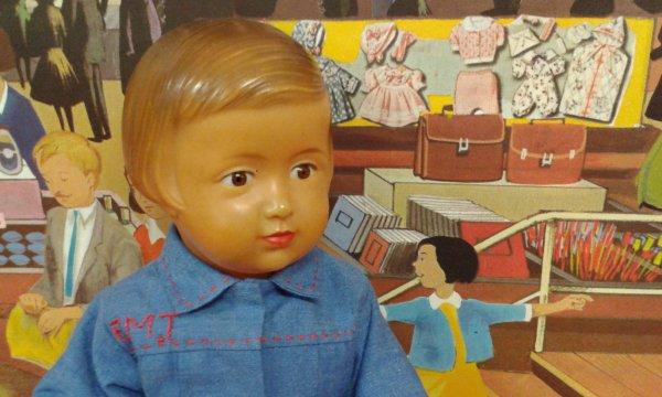 La blouse-tablier de Françoise en septembre 1952