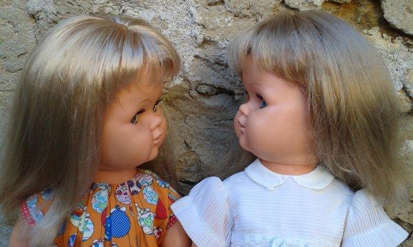 Les jumelles Suzie de BELLA, j'aime leur grosse bouille !