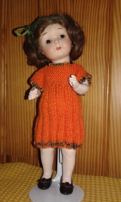 Melle Mimi enfin habillée !