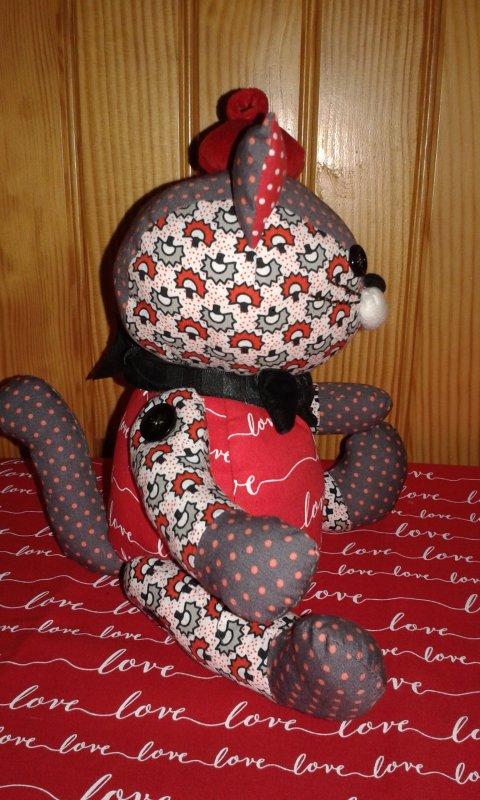 Voici la mascotte de la maison que je viens de terminer