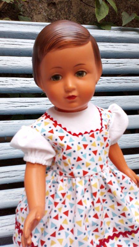 Nouvelle version de la robe de juin 1956
