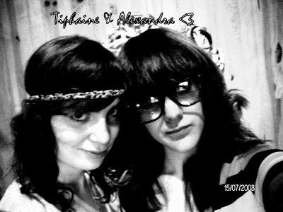 Ma deuxième moitié , Ma soeur & ma Meilleure Amie que rêvé de mieux.<3  ♥