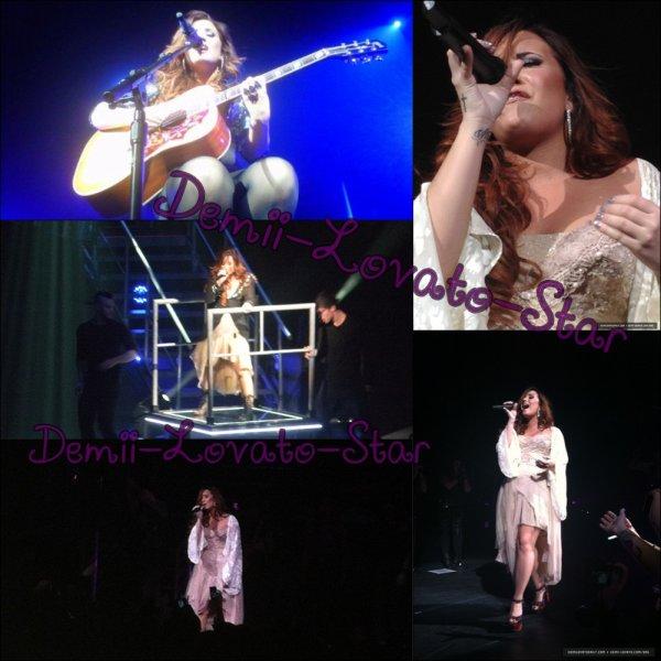le 18 novembre 2011 Demi Continue ces concert à Mashantucket, Connecticut, Pour le plus grand plaisir des fans !!!
