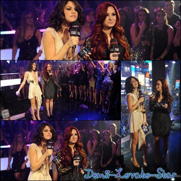 31 décembre 2011 – MTV's New Years Eve a NYC pour l'année 2012