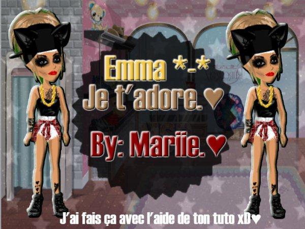 Pour Emma.♥