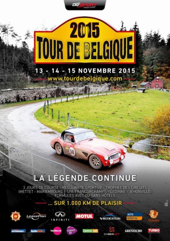 Tour de Belgique 2015 - L'affiche + présentation