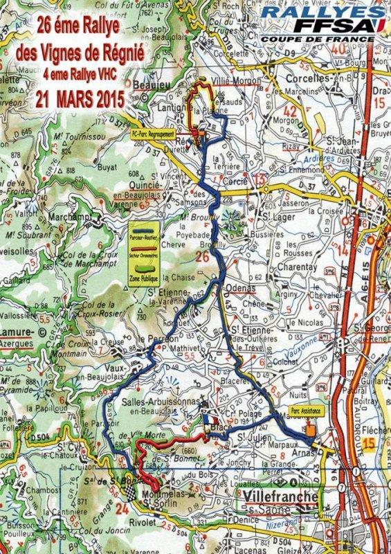 26ème rallye des Vignes - L'affiche et les photos