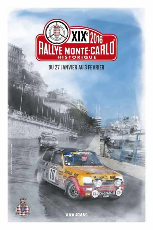 Rallye Monte Carlo Historique 2016 - Présentation + photos