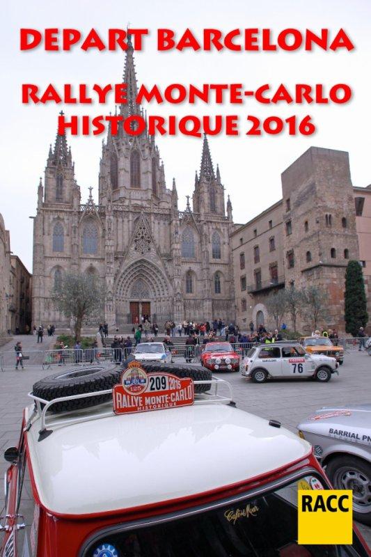 Rallye Monte Carlo Historique 2016 - Vidéos