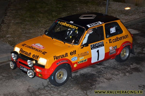 rallye monte carlo historique 2016 photos renault 5 alpine gr2. Black Bedroom Furniture Sets. Home Design Ideas