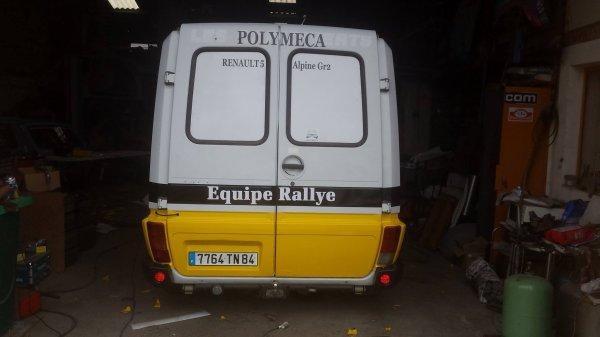 Rallye Vins du Gard 2016 - Photos des préparatifs