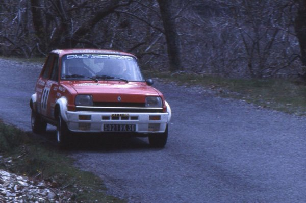Rallye du Lozère 1983 - Photo + classement