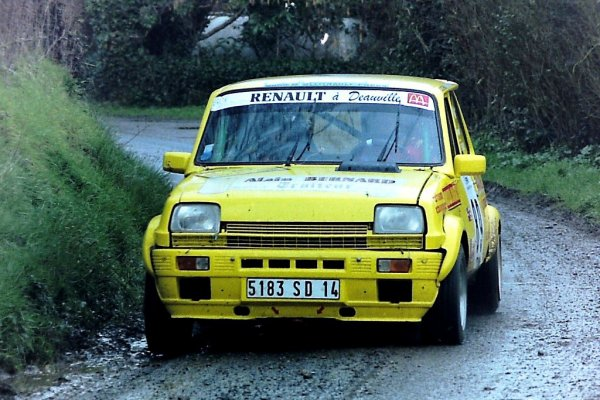 Rallye Côte Fleurie 1988 et 1999 - Photos